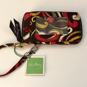 💕 Vera Bradley All-in-One Puccini Wristlet NWT